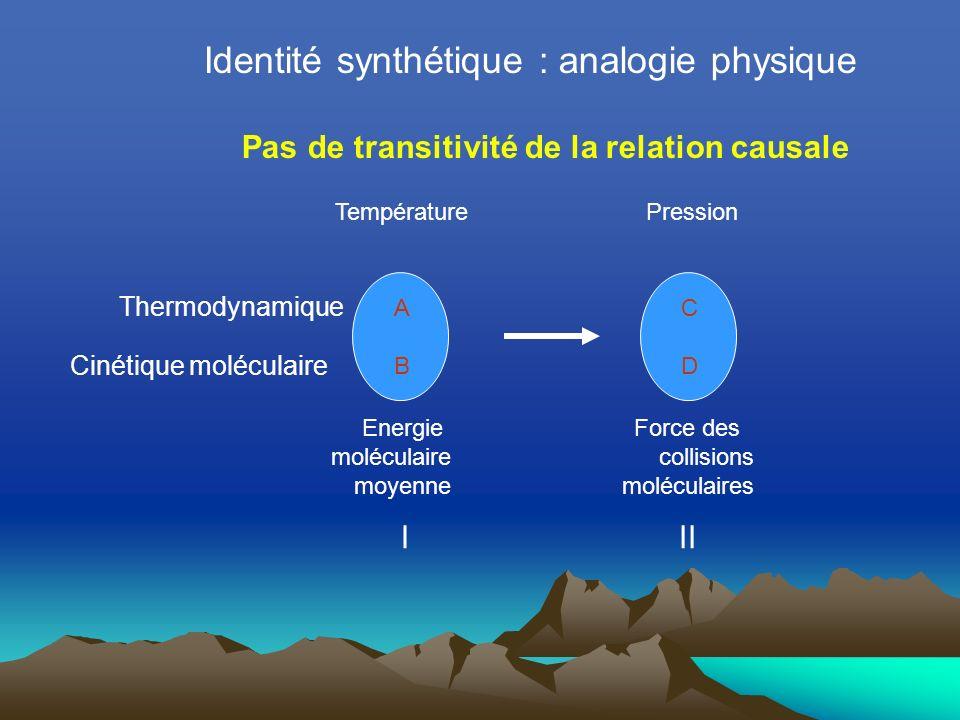 Identité synthétique : analogie physique