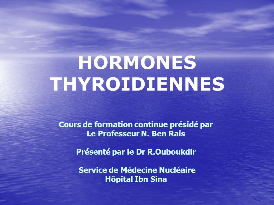 HORMONES THYROIDIENNES
