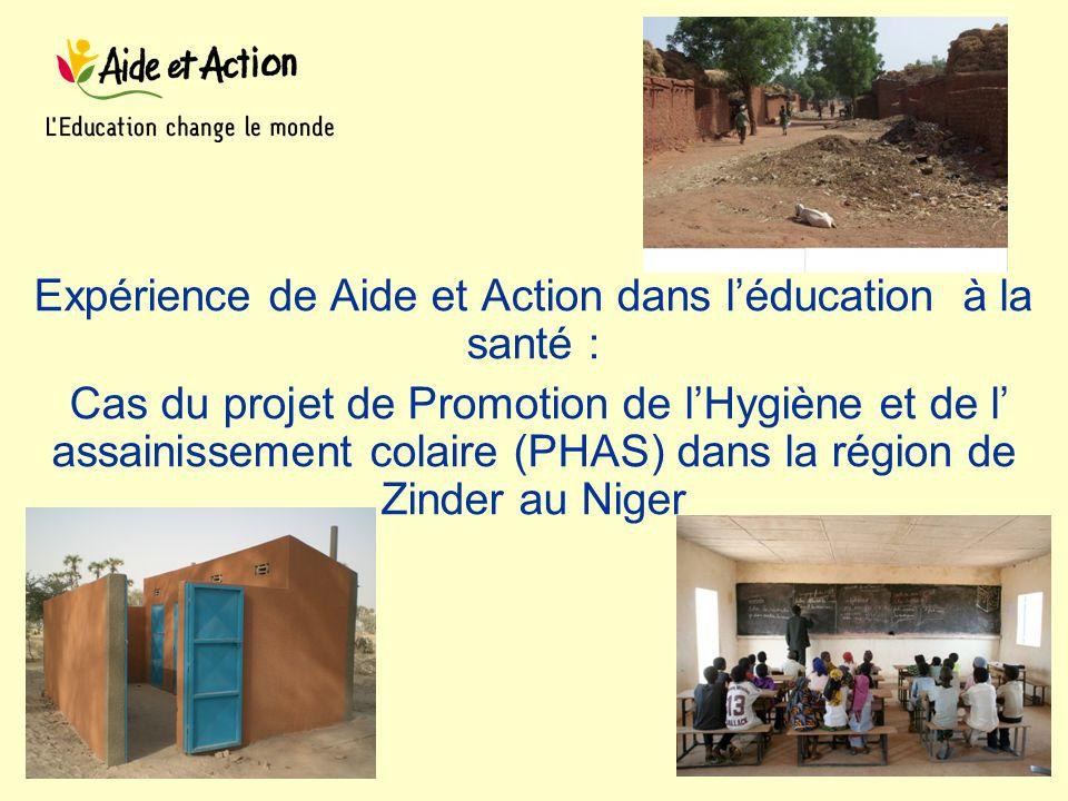 Expérience de Aide et Action dans l'éducation à la santé :