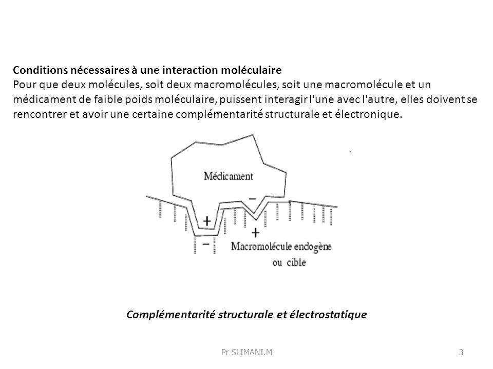 Complémentarité structurale et électrostatique