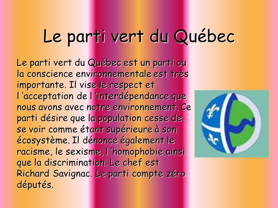 Le parti vert du Québec