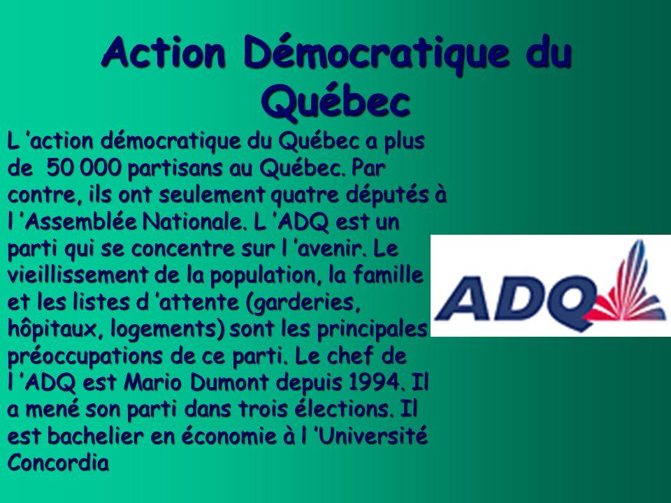 Action Démocratique du Québec