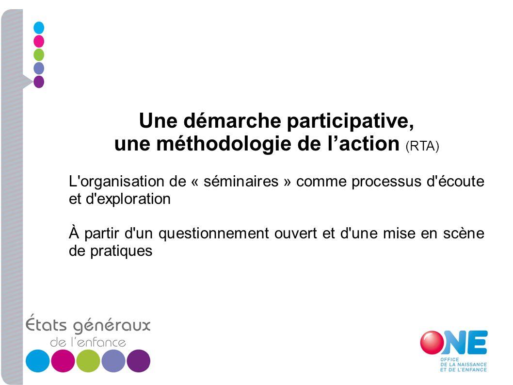 Une démarche participative,