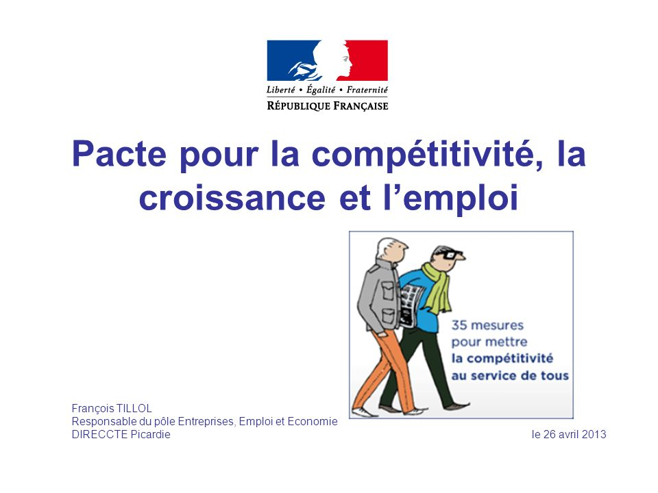 Pacte pour la compétitivité, la croissance et l'emploi