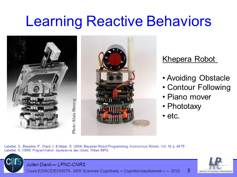 Learning Reactive Behaviors