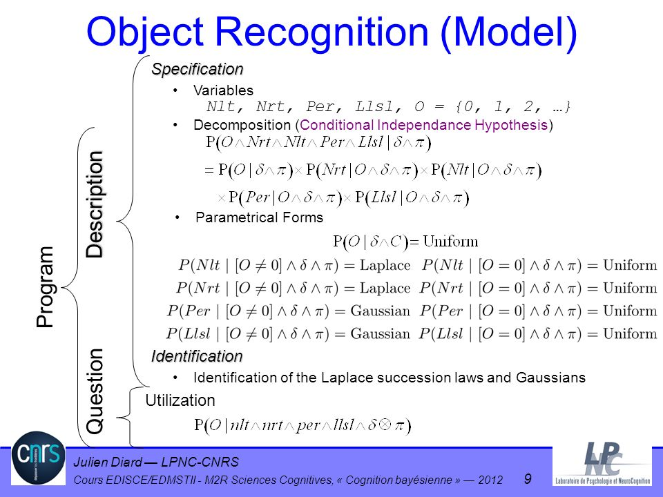 Object Recognition (Model)