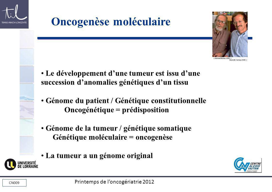 Oncogenèse moléculaire