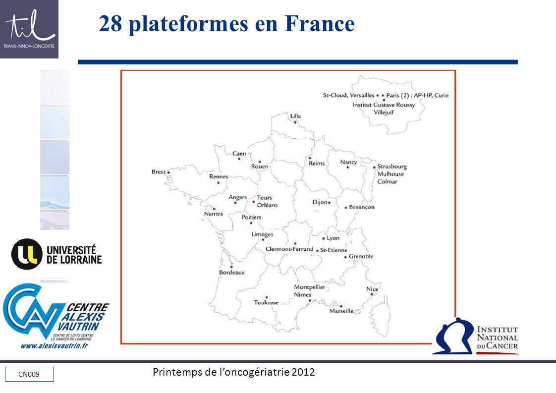 28 plateformes en France