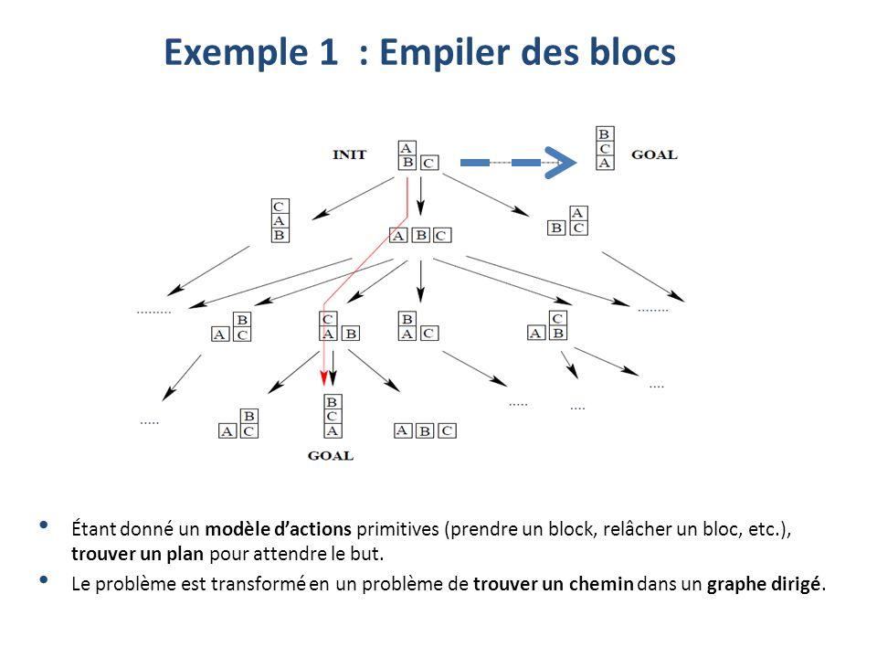 Exemple 1 : Empiler des blocs