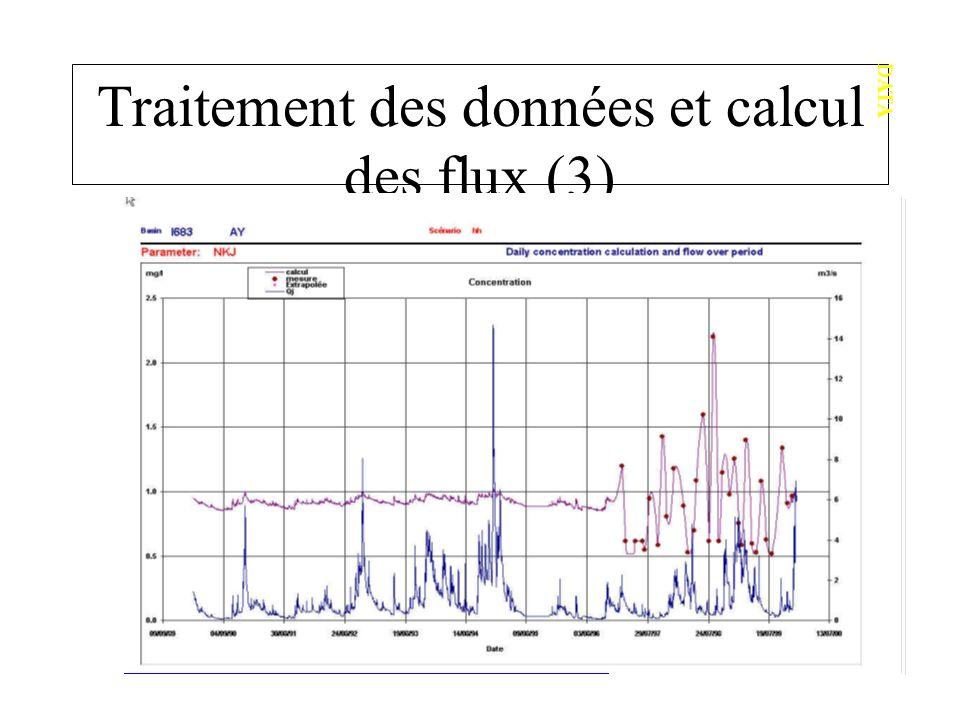 Traitement des données et calcul des flux (3)