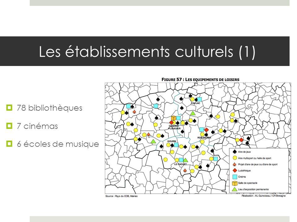 Les établissements culturels (1)