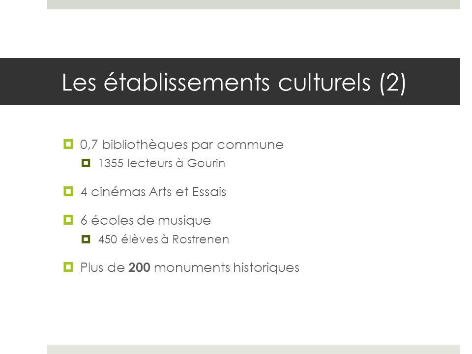 Les établissements culturels (2)