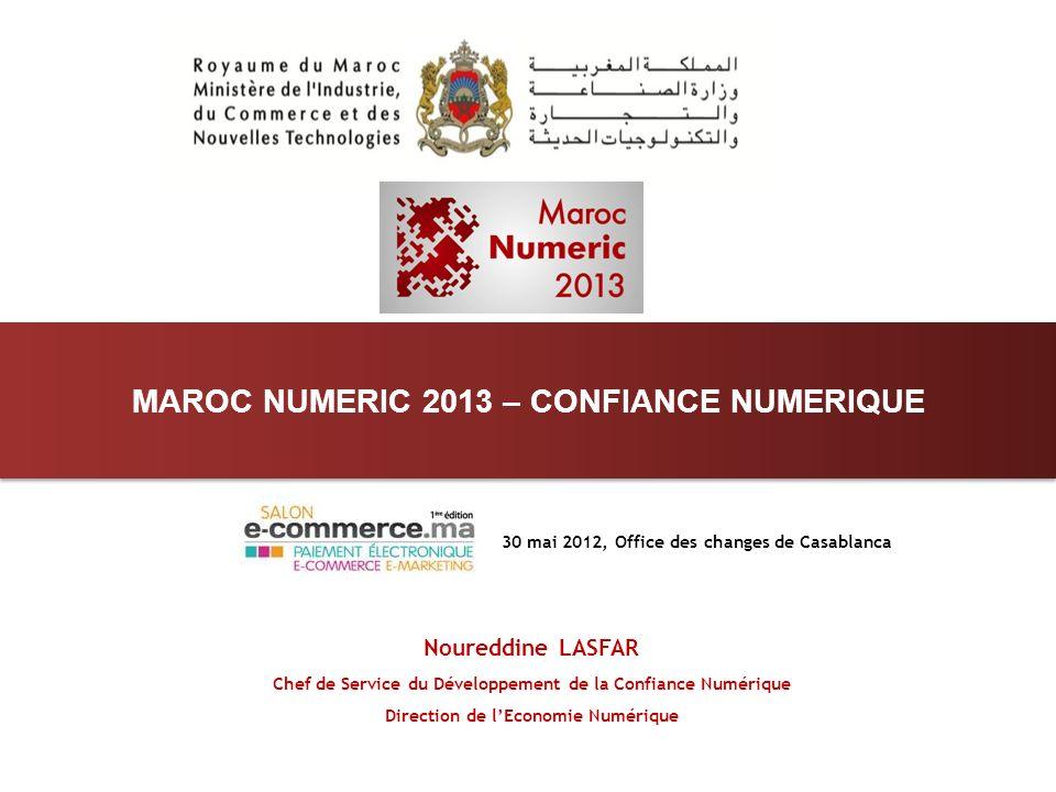 MAROC NUMERIC 2013 – CONFIANCE NUMERIQUE