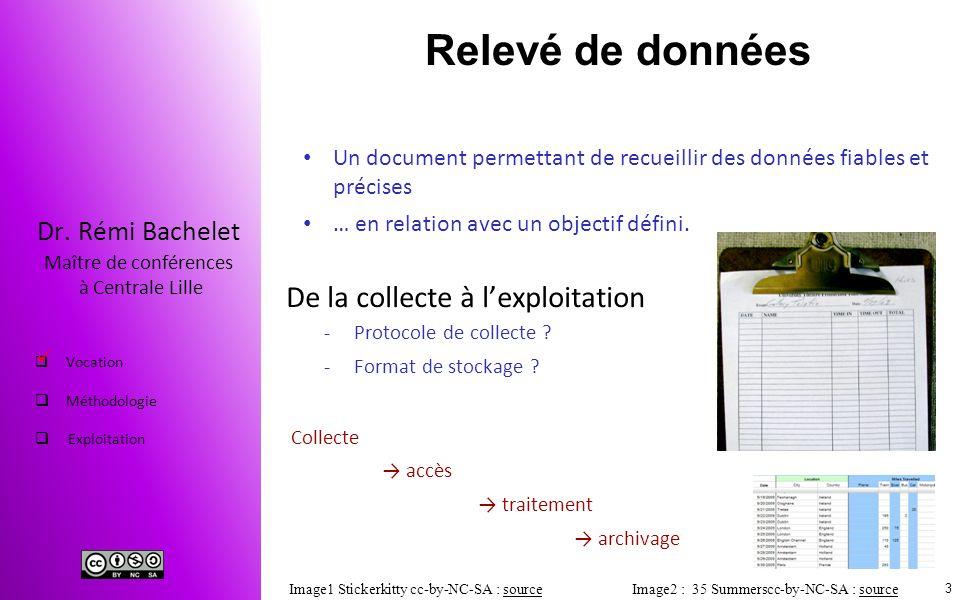 Relevé de données De la collecte à l'exploitation