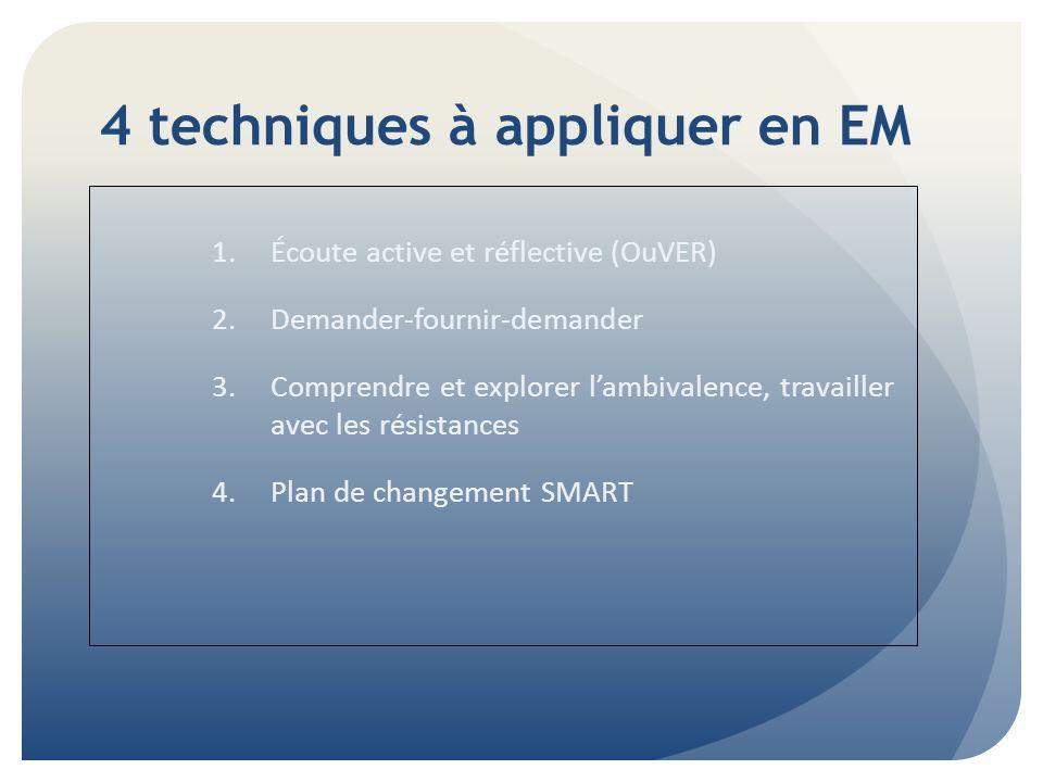 4 techniques à appliquer en EM