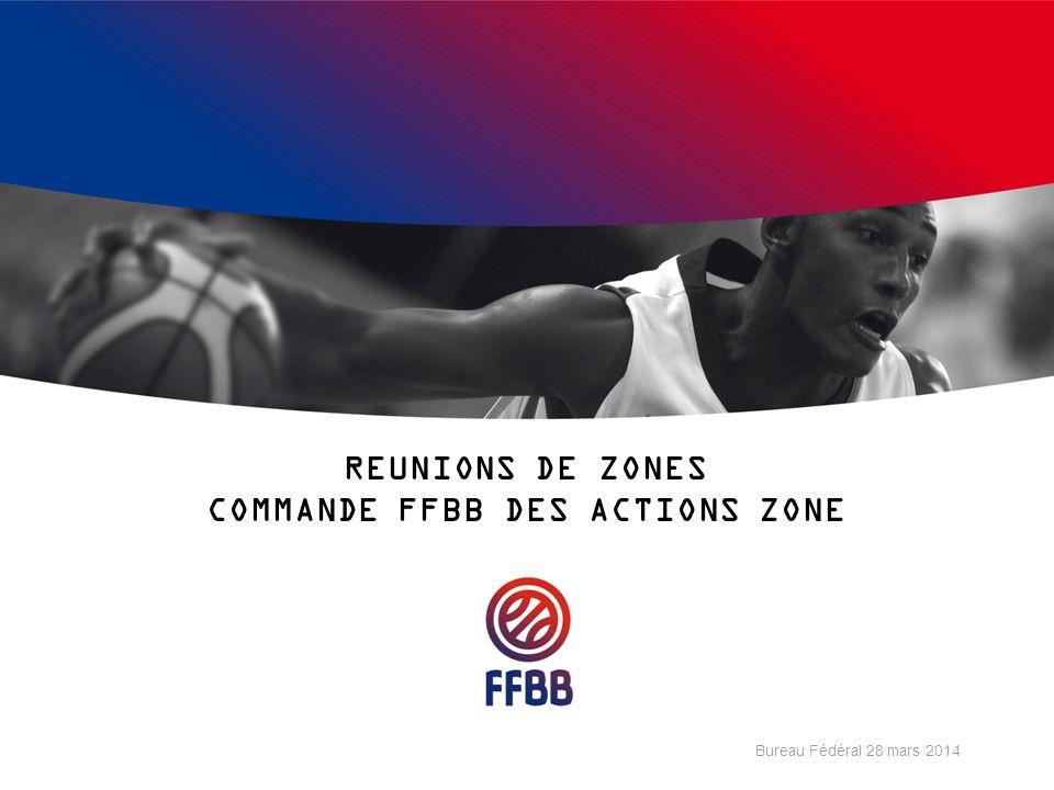 REUNIONS DE ZONES COMMANDE FFBB DES ACTIONS ZONE