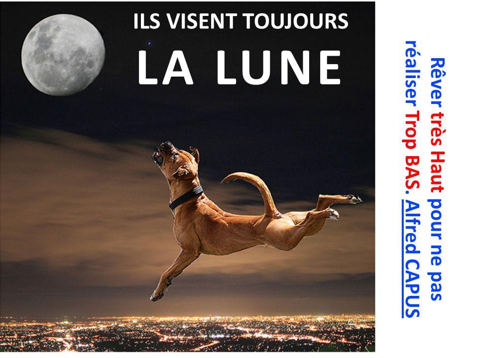 ILS VISENT TOUJOURS LA LUNE