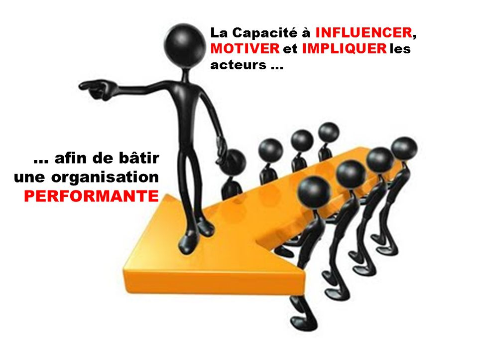 … afin de bâtir une organisation PERFORMANTE