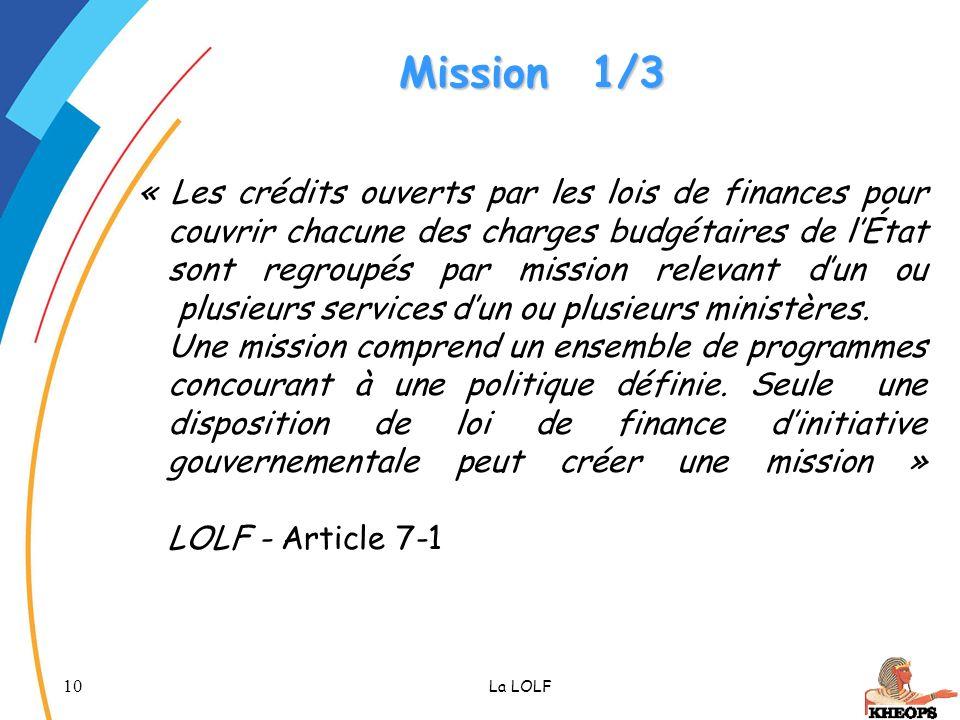 Mission 1/3
