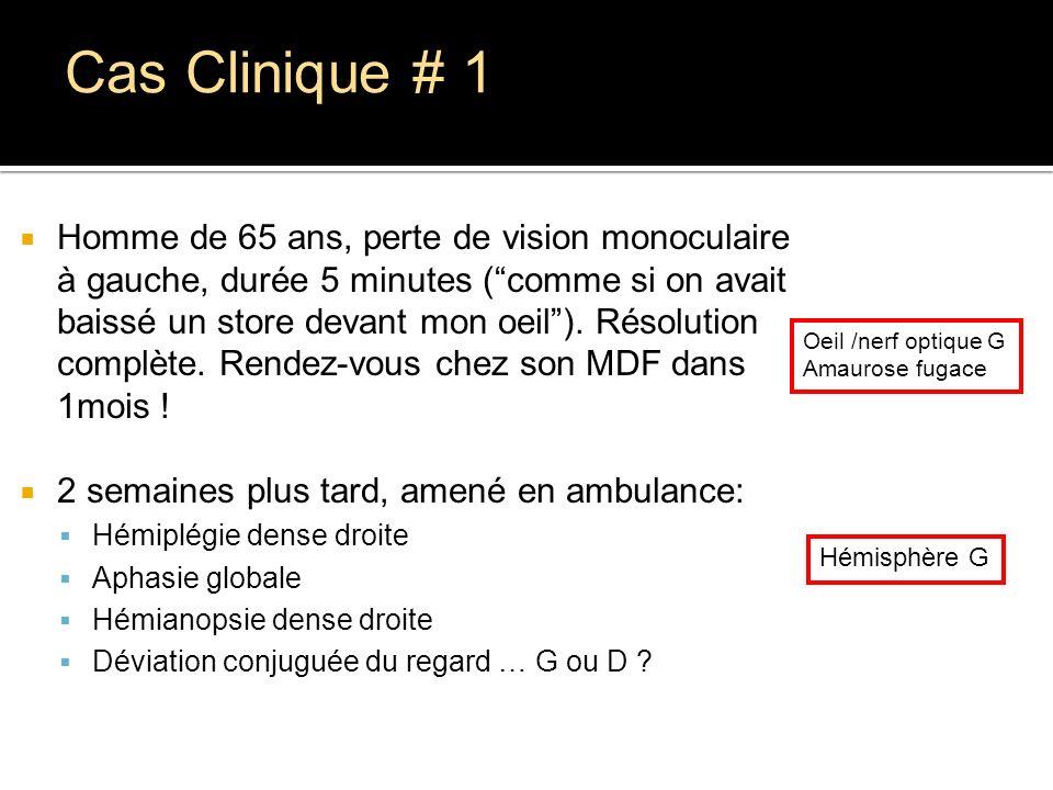 Cas Clinique # 1