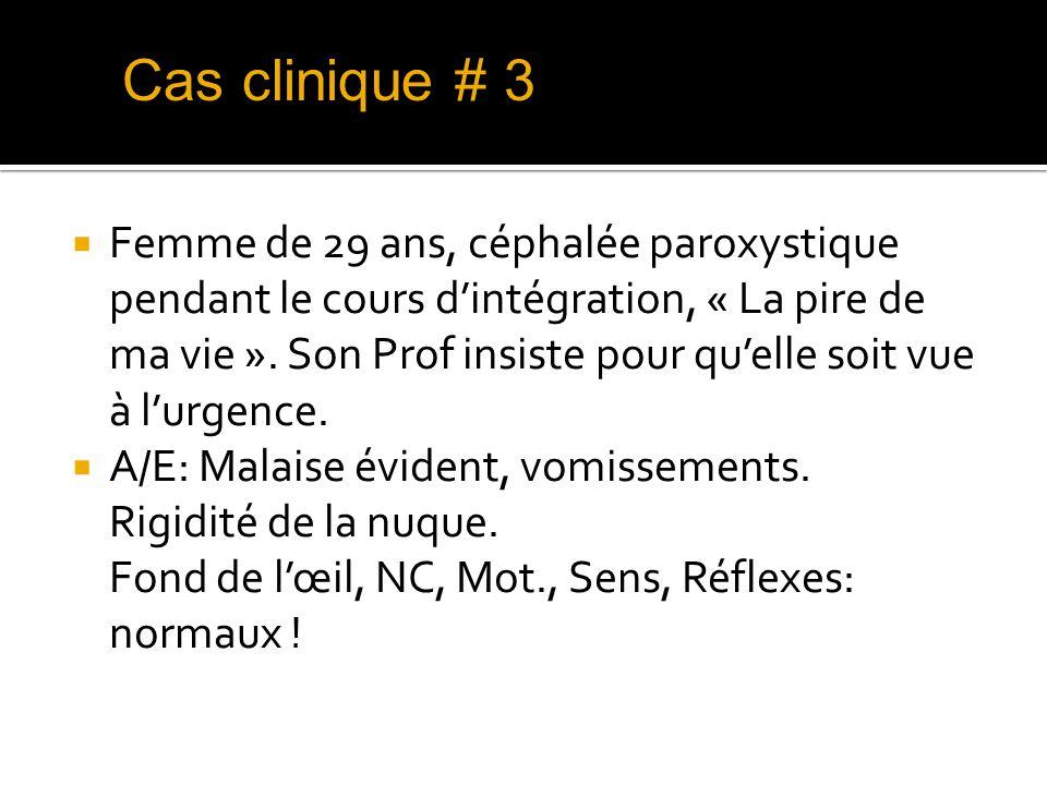 Cas clinique # 3