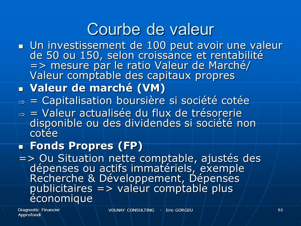 VOLNAY CONSULTING - Eric GORGEU