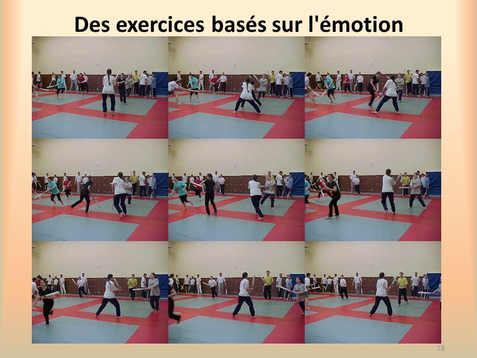 Des exercices basés sur l émotion