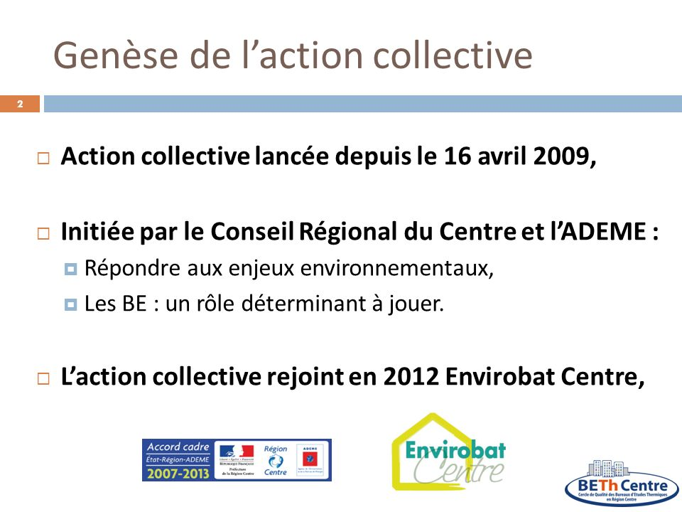 Genèse de l'action collective