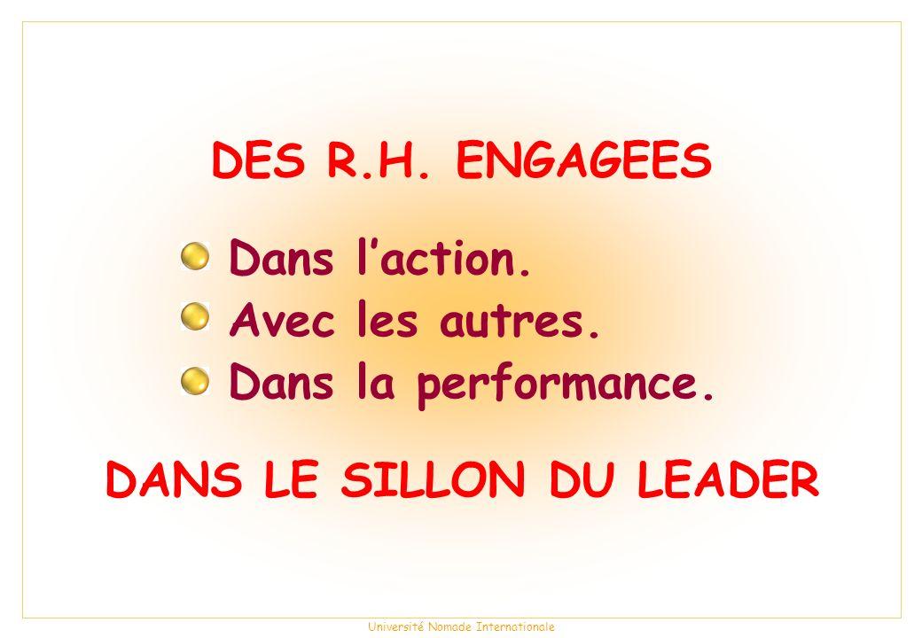 DANS LE SILLON DU LEADER