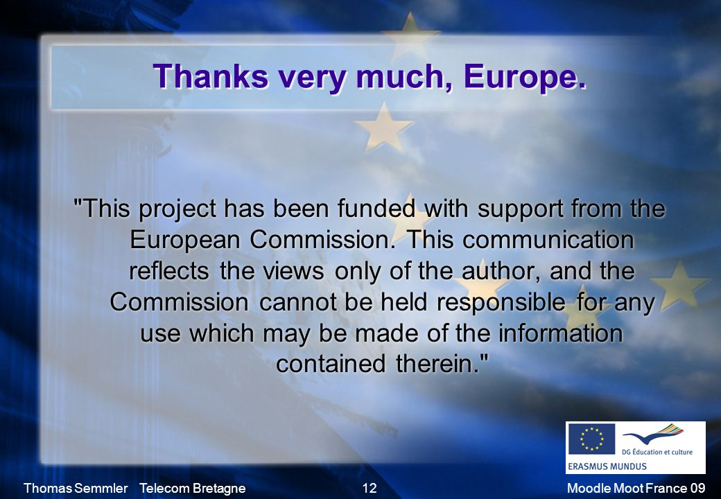 Thanks very much, Europe.