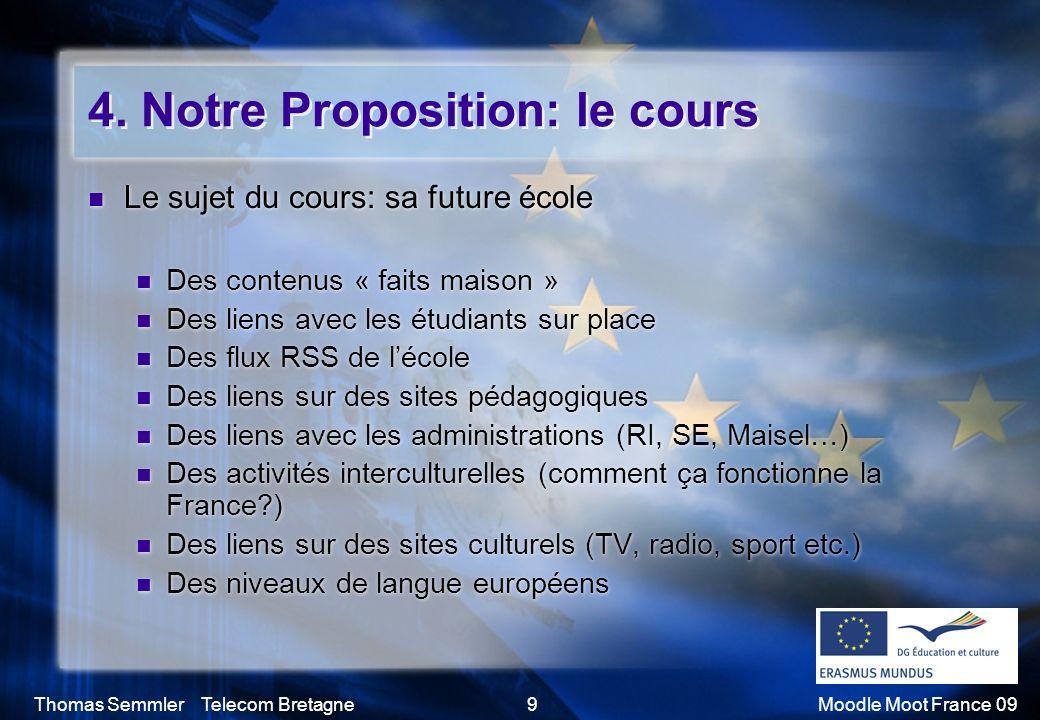 4. Notre Proposition: le cours