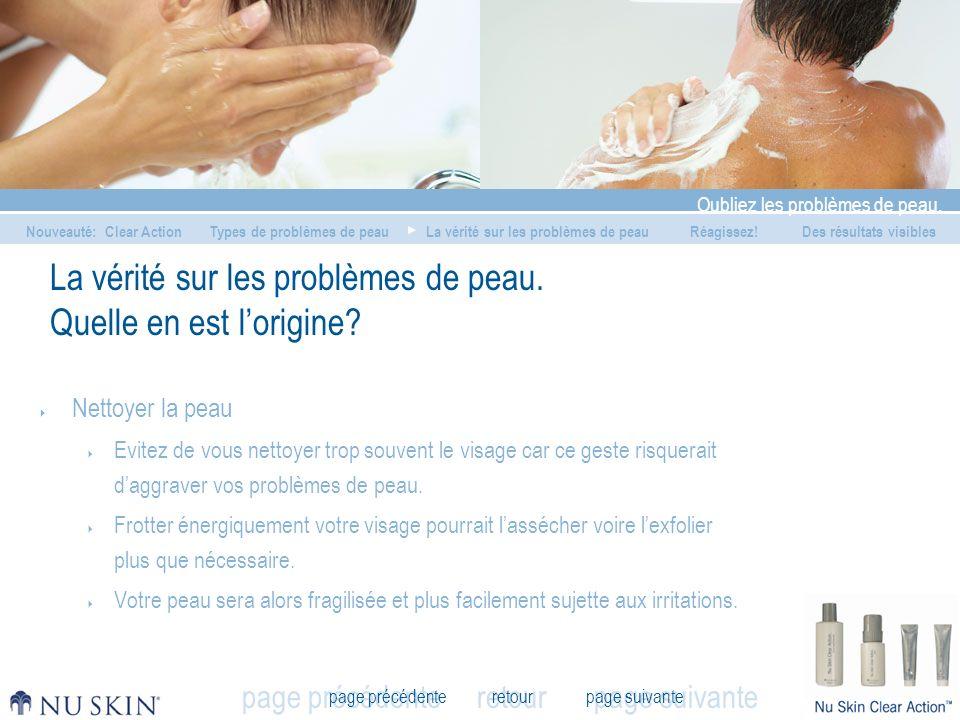La vérité sur les problèmes de peau. Quelle en est l'origine