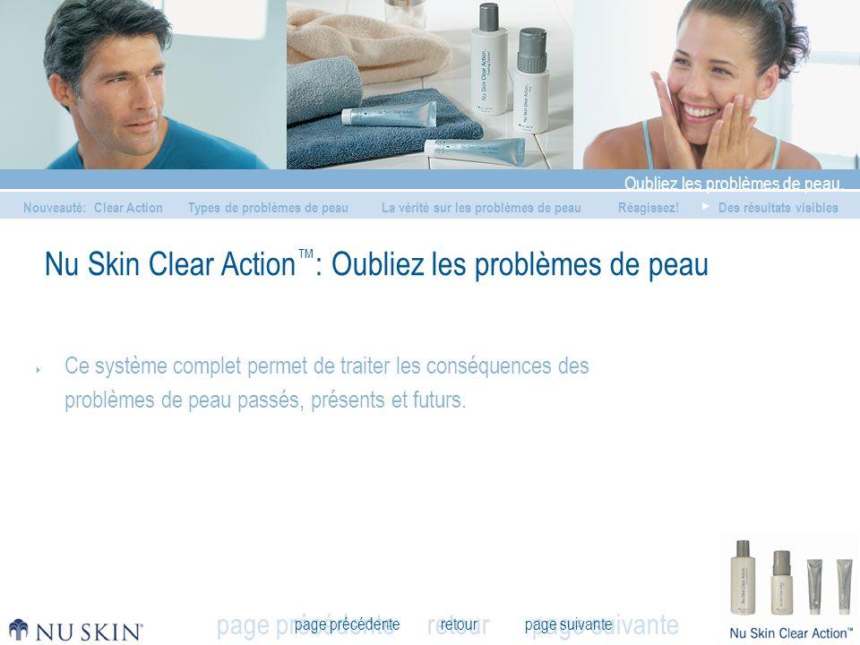 Nu Skin Clear Action™: Oubliez les problèmes de peau