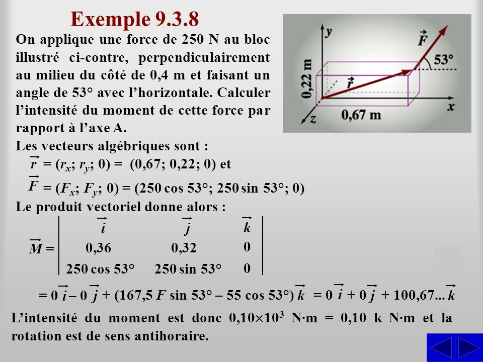 Exemple 9.3.8