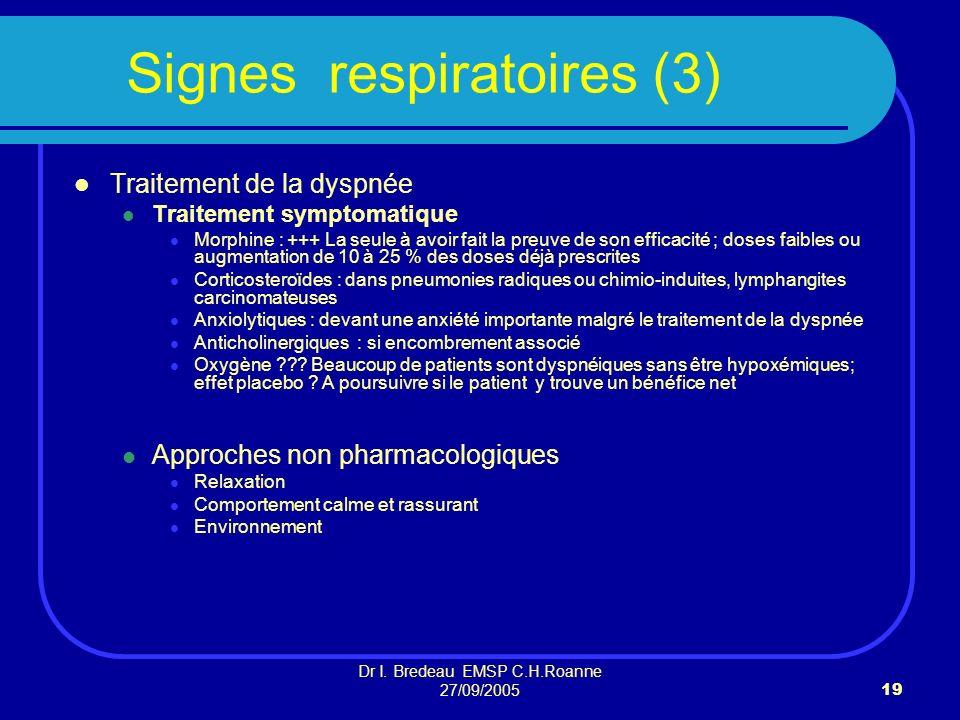 Signes respiratoires (3)