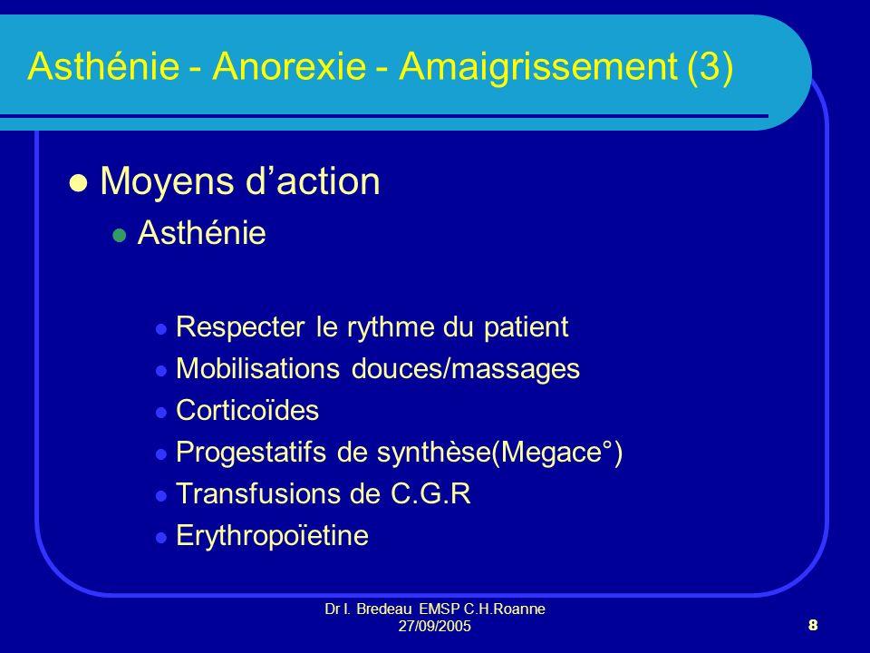 Asthénie - Anorexie - Amaigrissement (3)