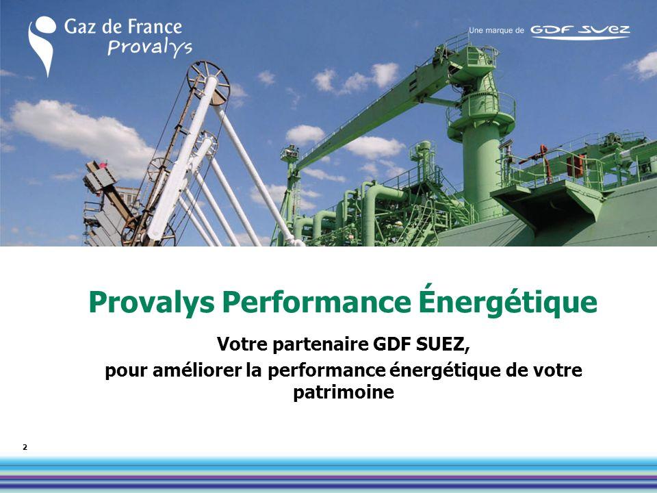 Provalys Performance Énergétique