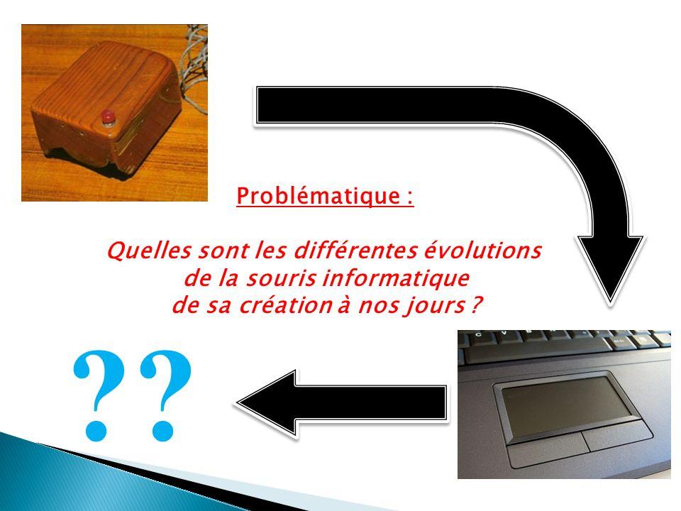 Problématique : Quelles sont les différentes évolutions