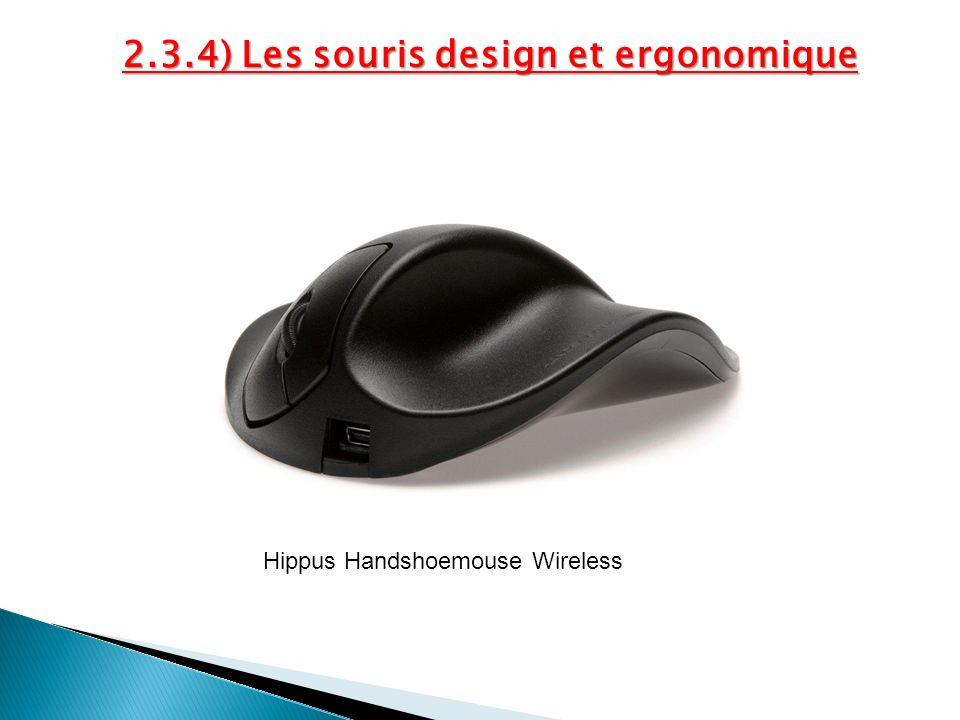 2.3.4) Les souris design et ergonomique