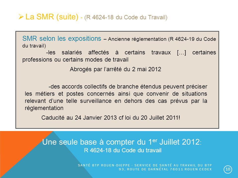 Une seule base à compter du 1er Juillet 2012: