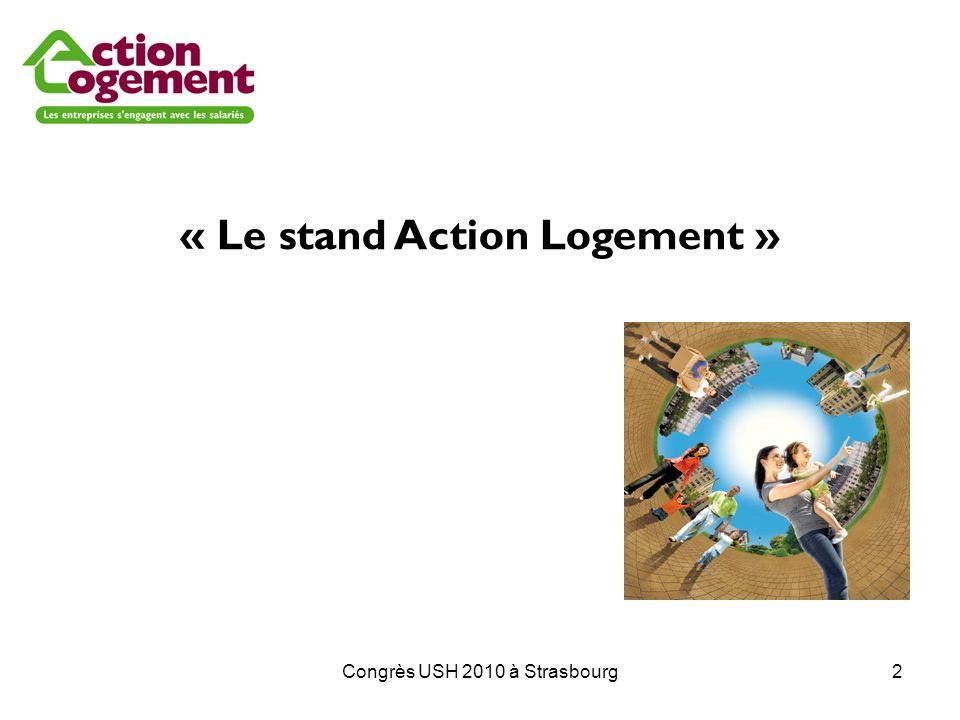 « Le stand Action Logement »