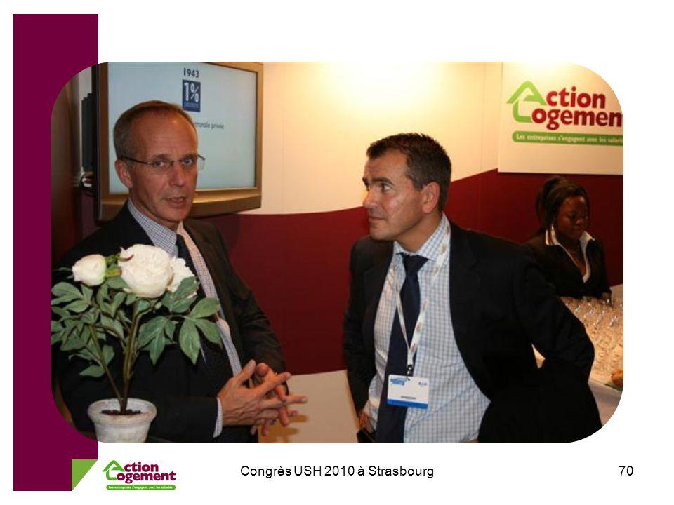 Congrès USH 2010 à Strasbourg