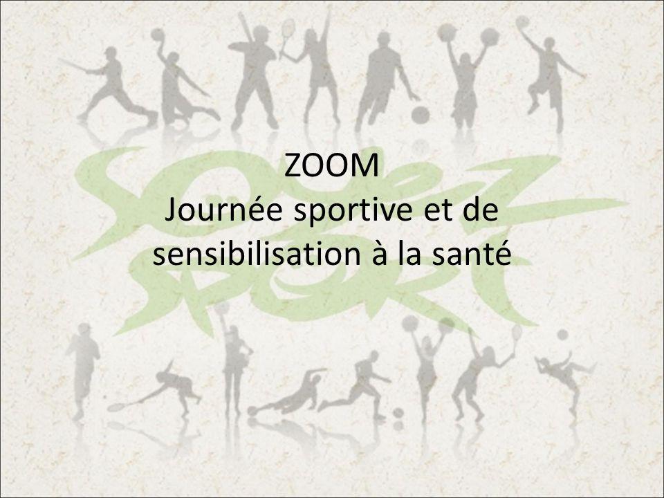 ZOOM Journée sportive et de sensibilisation à la santé
