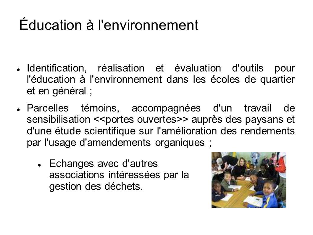 Éducation à l environnement