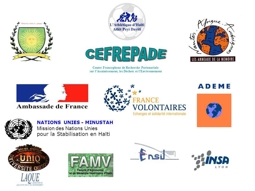 CEFREPADE Mission des Nations Unies pour la Stabilisation en Haïti