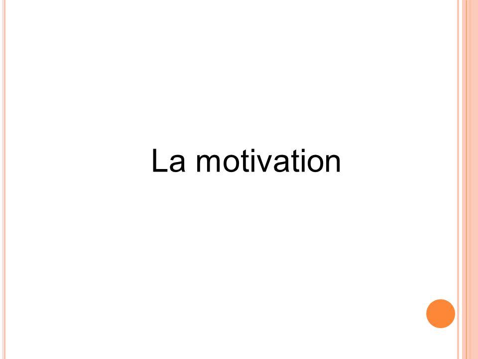 La motivation 11