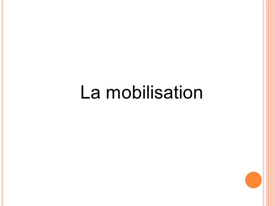 La mobilisation 39