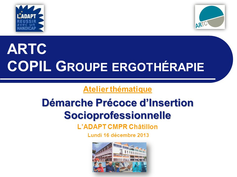 ARTC COPIL Groupe ergothérapie