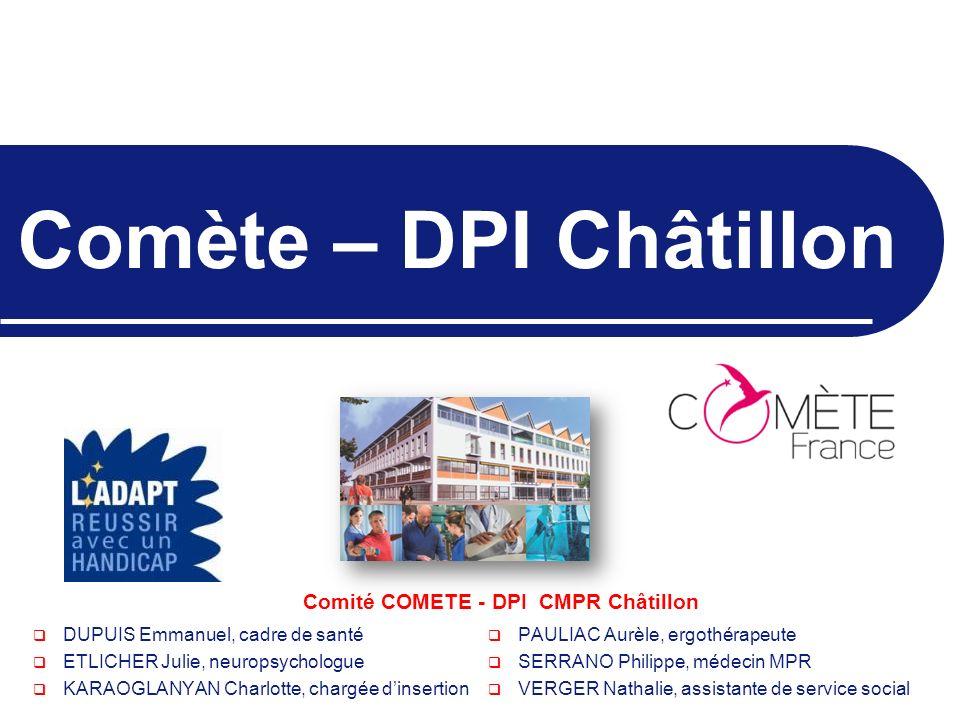 Comité COMETE - DPI CMPR Châtillon