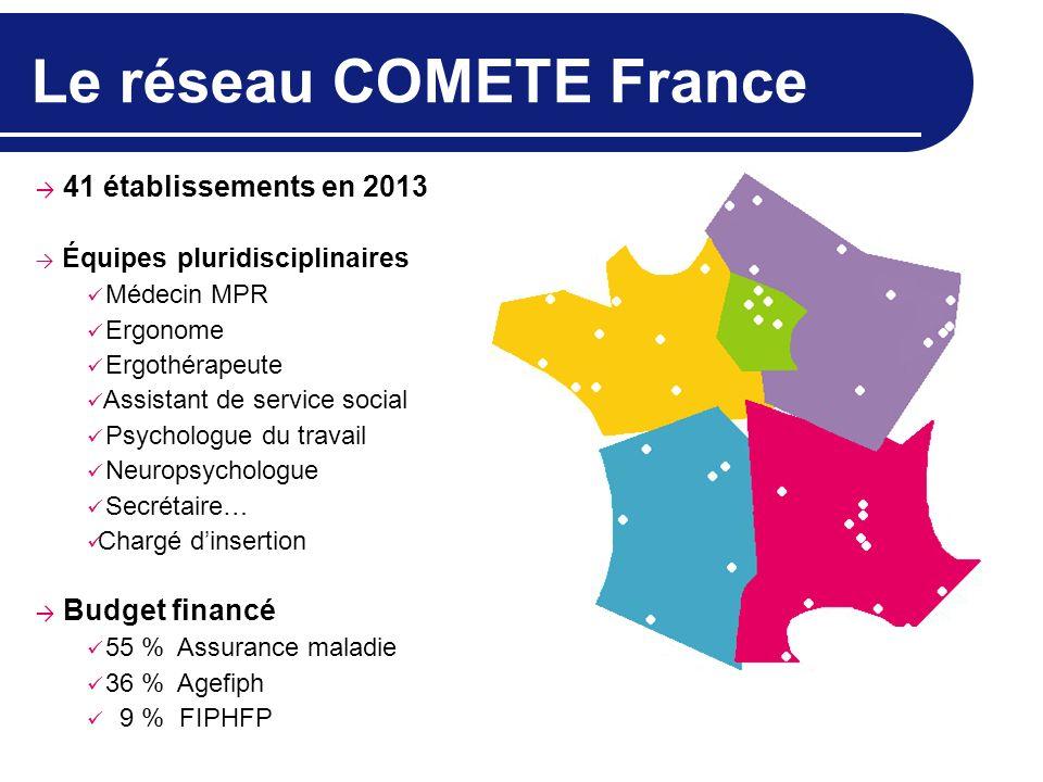 Le réseau COMETE France